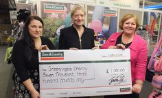 Town & Country are delighted with the results of our fundraising campaign for 2014, which has seen a huge £7,300 donated to Greenfingers - the charity dedicated to creating magical gardens in children's hospices around the UK.