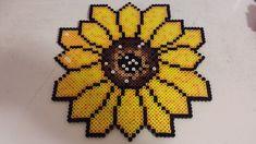 Sunflower Perler Beads  by ~Minicoops on deviantART