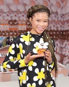 Storm Reid Has The Best Hairstyles For Long Box Braids