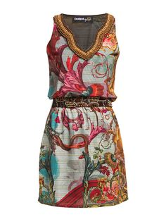 Love this dress! From Desigual