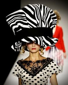 over the top big. #millinery #judithm #hats