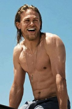 Charlie Hunnam- yes please