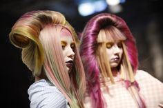 2013 Haute Couture Trend #Fusion by Dmitry Vinokurov   #hair #beauty* now that's amazing.
