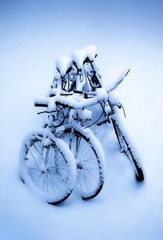 'Keep warm' Photographic Print by Geir Floede I Love Snow, I Love Winter, Winter Is Coming, Winter Snow, Winter White, Snow Fun, Velo Biking, Winter Magic, Bicycle Art
