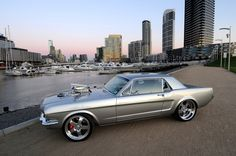 1965 Custom Ford Mustang Coupe - Silver