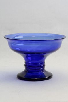Online veilinghuis Catawiki: Jean Beck (1862-1938) - Blauwglazen coupe gesigneerd