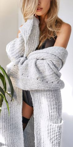 Comfy & Cozy Slouchy Sweater  ❤︎ #fall #winter #fashion