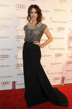 Abigail Spencer - Art Of Elysium's 5th Annual Heaven Gala on January 14, 2012 in Los Angeles, California.