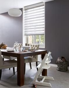 Bece #raamdecoratie #duorolgordijn #grijs #grey #home