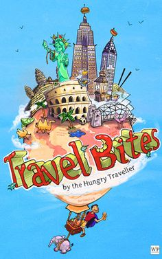 "Books Direct: ""Travel Bites"" by The Hungry Traveller - EXCERPT and GIVEAWAY"