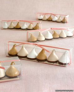 favor boxes for meringue  #meringue