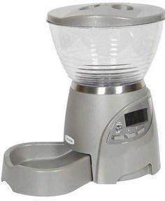 Petmate Infinity 5 lb Portion Control Automatic Cat Feeder
