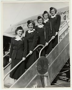 American Airlines, 1940s.