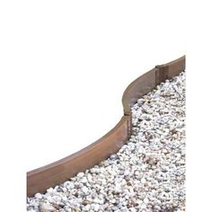 Frame It All, Two Inch Series 32 ft. x 2 in. Composite Circle Playground Border Kit, 300001050 at The Home Depot - Mobile Great option for curving borders Flower Bed Edging, Garden Edging, Garden Borders, Terrace Garden, Lawn And Garden, Flower Beds, Small Gardens, Outdoor Gardens, Storage Shed Kits