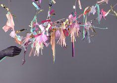 Heart Handmade UK: Party Inspiration | Tassle Garlands from Confetti System