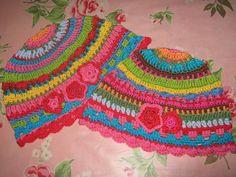 crafts for spring : colorful hat, crochet pattern | make handmade, crochet, craft