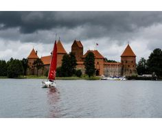 Postcard Castle of Trakai
