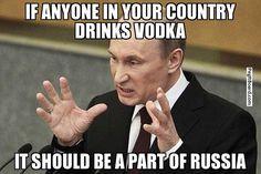 Image result for vodka russia meme