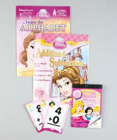 Take a look at this Disney Princess Learning Activity Fun Case on zulily today!