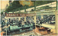 Legnano, Franco Tosi, Esposizione di Bruxelles, 1910