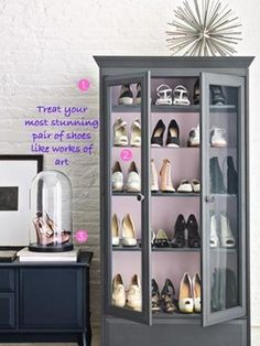 13 ways to organize shoes