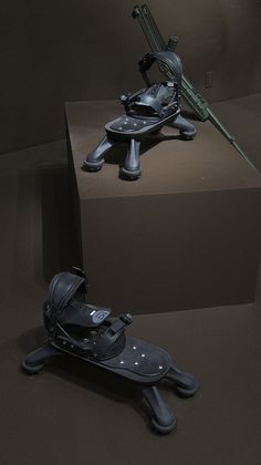 Spider Boot Antipersonnel Mine Foot Protection System, 1998 design by Gad Shaanan Design, Inc.