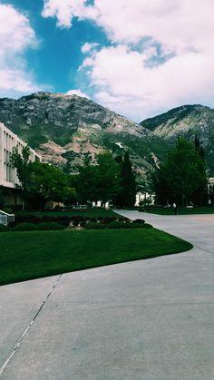 BYU campus Provo, Utah