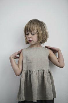 muku // linen dress