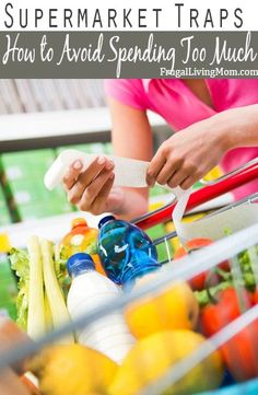 You go to the grocery store, hoping to spend $100 or less on your groceries for the week. Before you know it, you're at the checkout with $150-200 worth of groceries. Avoid these supermarket traps.