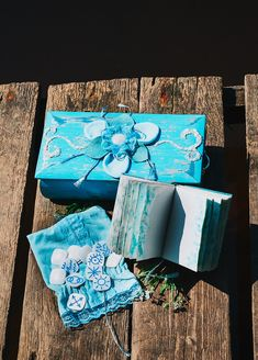 """Cyan Rune set """"Forget me not"""" (runes / witches runes / mother of pearl runes) Perfect Image, Perfect Photo, Love Photos, Cool Pictures, Blue Chests, Blue Books, Book Of Shadows, Little Books, Mini Books"""