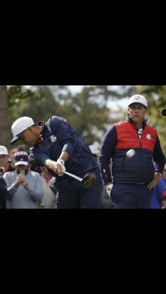 Rickie and Phil 2016 Ryder cup