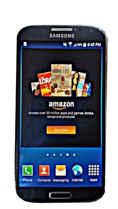 Samsung Galaxy S4 I545 16GB 4G LTE Verizon CDMA Smartphone - Black/Dark Blue