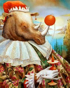 Moi rhino celib by Agnes Boulloche
