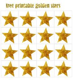 de jolies étoiles dorées pour toutes vos créations, votre table...