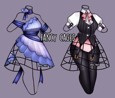 anime clothes Fancy Cages outfit adopt [close] by Miss-Trinity on DeviantArt Manga Clothes, Drawing Anime Clothes, Dress Drawing, Clothing Sketches, Dress Sketches, Drawing Sketches, Drawing Ideas, Fashion Design Drawings, Fashion Sketches