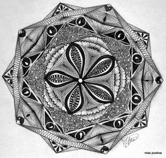 Zendala by Jeanette Vosters