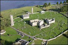 Clonmacnoise The historical settlement in Ireland