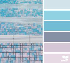 { color swim } | image via: @thebungalow22 ... #color #palette #colorpalette #pallet #colour #colourpalette #design #seeds #designseeds #seedscolor