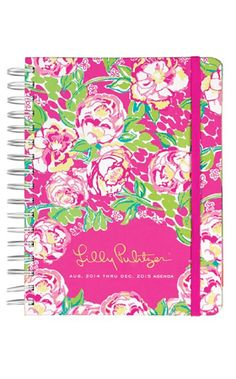 Lilly Pulitzer Large Agenda 2015, Lilly Lovers