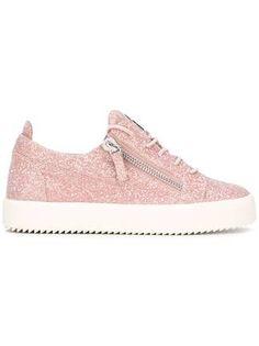 Giuseppe Zanotti Design Cheryl Glitter low-top sneakers Design Giuseppe  Zanotti 77d592a4518