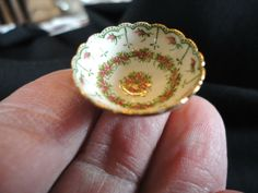 Punch Bowl Hand Painted by Teresa Welch - The China Closet - Signed & Dated | eBay