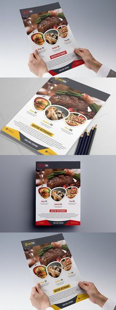 Restaurant Flyer. Corporate Flyer