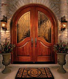 beautiful double front door design
