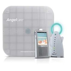 AngelCare 3-in-1 Video Baby MonitorAngelcare's 3-in-1 video baby monitor features an LCD Touch Screen parents unit. Whether baby is awake or sound asleep, Angelcare® under-the-mattress Sensor Pad will detect all of her movements. Alarm sounds after 20 seconds if absolutely no movement is detected.