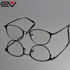Eyeglasses Frames Men Round Frame Eyewear Women's Glasses Frames Eyewear Opticos Prescription Oculos De Grau Feminino EV1039 #Affiliate