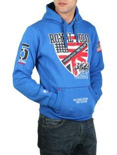 #Geographical_Norway #modrá ##stylové #oblečení #Pánské #mikiny #akce