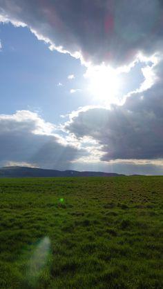 Sonne Wolken Spiel...
