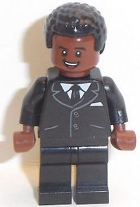 Lego Male Minifig x 1 with Red Brown Face & Black Hair Red Hair, Black Hair, Hogwarts Great Hall, Lego Speed Champions, Lego Movie 2, Lego Technic, Black Suits, Black Panther, Lego Star Wars