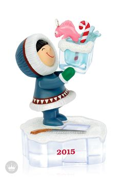 Frosty has found the coolest friend this Christmas! Celebrate a season of friendship on your tree with the 36th Hallmark Keepsake Ornament in the Frosty Friends series.