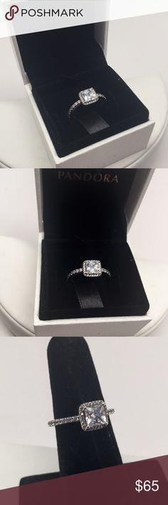 Pandora classic elegance ring PICK YOUR SIZE New pandora ring Pandora Jewelry